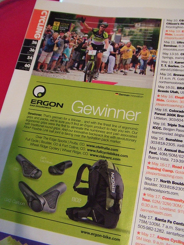 Ergon ad in Keeper Issue