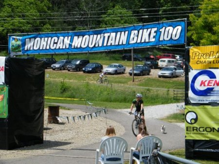 Mohican 100 finish